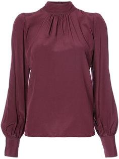 блузка с высокой горловиной Marc Jacobs