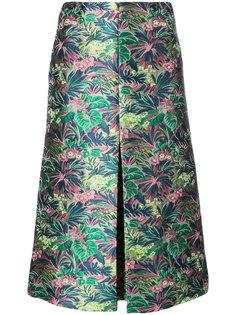расклешенная юбка MSGM