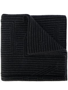 полосатый шарф Fendi