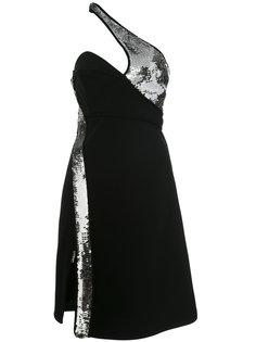 платье без рукавов с декоративными вырезами Mugler