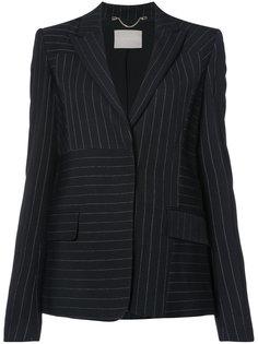 пиджак в полоску Jason Wu