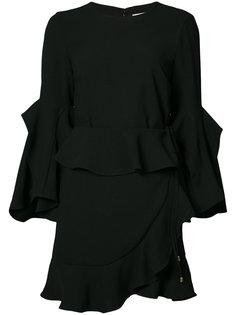 мини-платье с расклешенными рукавами Rebecca Vallance