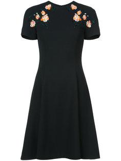платье с цветочной аппликацией Jason Wu