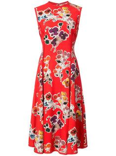 платье с цветочным принтом без рукавов Jason Wu