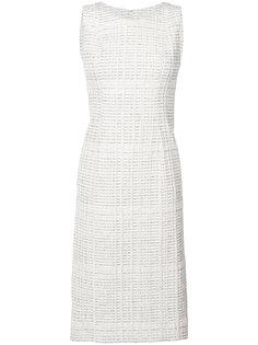 классическое платье шифт Oscar de la Renta