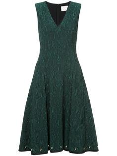 расклешенное платье с люверсами Jason Wu