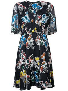 шифоновое платье с цветочным принтом Jason Wu
