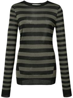свитер в полоску Jason Wu