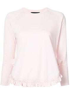 блузка с оборками Simone Rocha