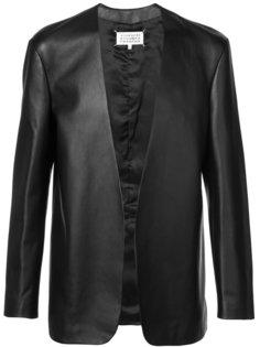 куртка без воротника Maison Margiela