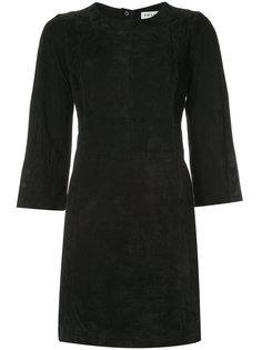 платье мини с рукавами три четверти Frame Denim