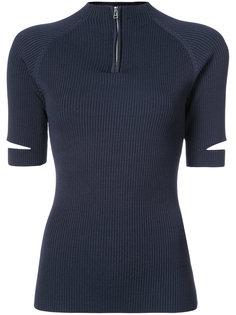 рубашка-поло с воротником на молнии Nomia