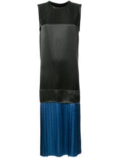 платье с плиссированным слоем Toga
