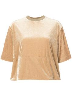бархатная футболка Toga