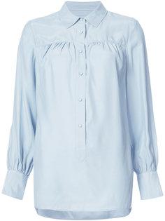 блузка со сборками Frame Denim