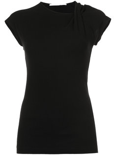 футболка с перекрученной деталью Rosetta Getty