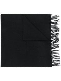 шарф с норковыми помпонами Fendi