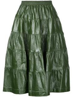 tiered skirt  J.W.Anderson