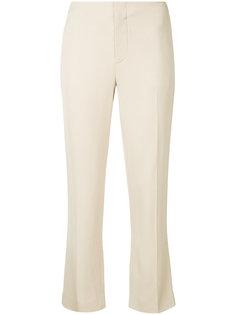 укороченные строгие брюки  Bassike