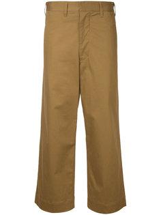 строгие брюки с завышенной талией  Bassike