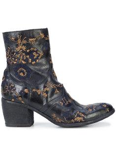 ботинки с вышивкой Fauzian Jeunesse