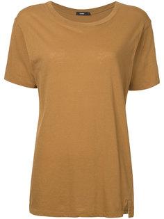 футболка слим в винтажном стиле  Bassike