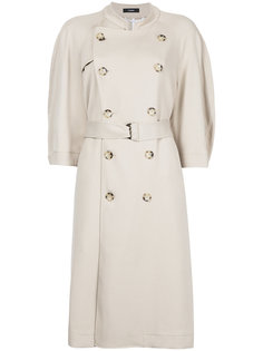 пальто-тренч с короткими рукавами  Bassike