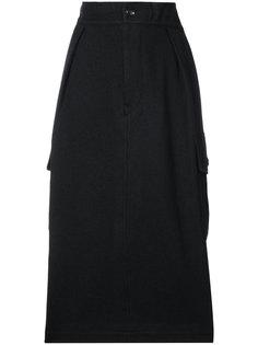 юбка с боковыми карманами Ys Y`s