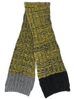 шарф вязки косичкой Paul Smith