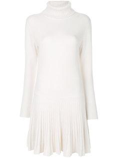 платье с заниженной талией  Chloé