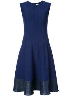 приталенное расклешенное платье Carolina Herrera