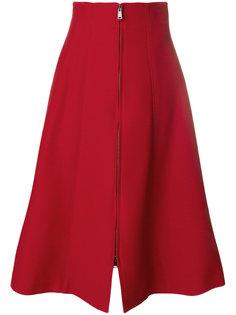 юбка миди А-образного кроя Fendi
