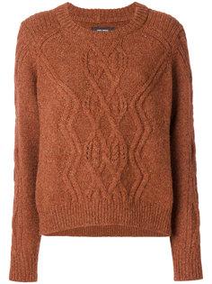 свитер с узором косы Isabel Marant
