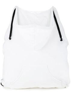 рюкзак с капюшоном на шнурке  Mm6 Maison Margiela