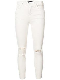 distressed skinny jeans J Brand