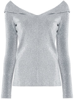 metallic effect blouse  Rosetta Getty