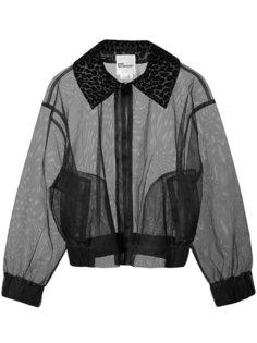 sheer cropped jacket Comme Des Garçons Noir Kei Ninomiya