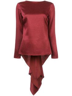 draped back blouse Rosetta Getty
