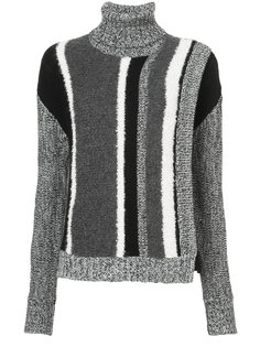 turtle neck knitted sweater Yigal Azrouel