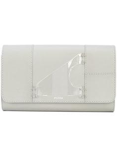transparent handle clutch bag Perrin Paris