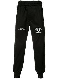 спортивные брюки с принтом логотипа Off-White