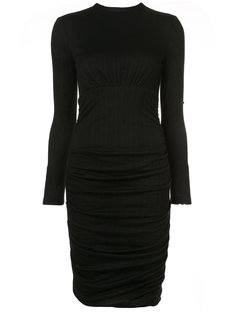 draped fitted dress Yigal Azrouel