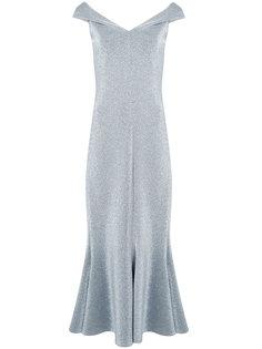 metallic effect dress Rosetta Getty