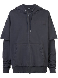 oversized zipped hoodie  R13