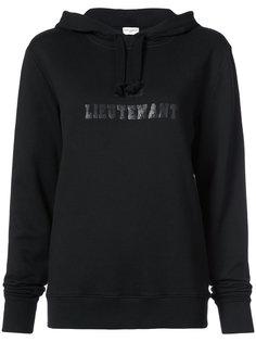 bad lieutenant printed hoodie Saint Laurent