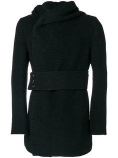 пальто с капюшоном Rick Owens