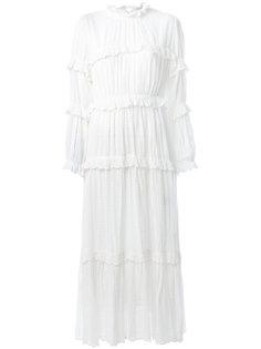 платье макси с оборкой Lyukio Isabel Marant Étoile