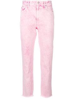 джинсы с необработанными краями Isabel Marant Étoile