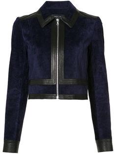 укороченная куртка на молнии  Derek Lam