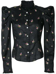 рубашка с цветочной вышивкой  Isabel Marant